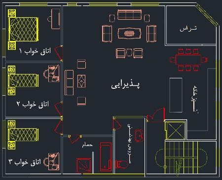 نقشه های برق ساختمان pdf (آشنائی با طراحی و اجرای نقشه های برق مسکونی)